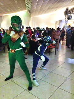 Animadores de festa - Power Rangers