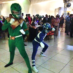 Animadores de festa - Power Rangers